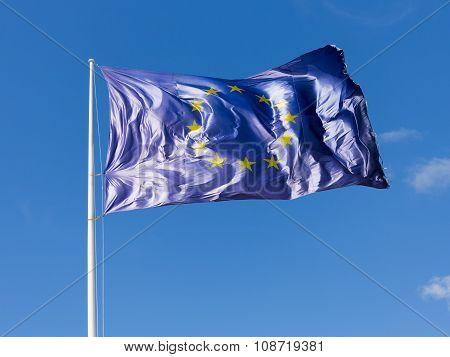 Blue Eu Flag