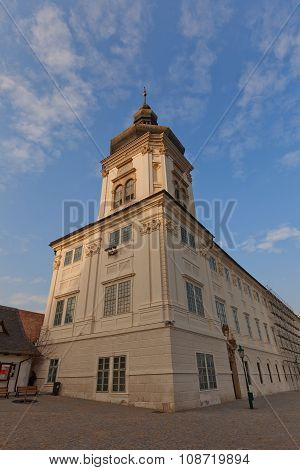 Jusuit College (1667) In Kutna Hora. Unesco Site