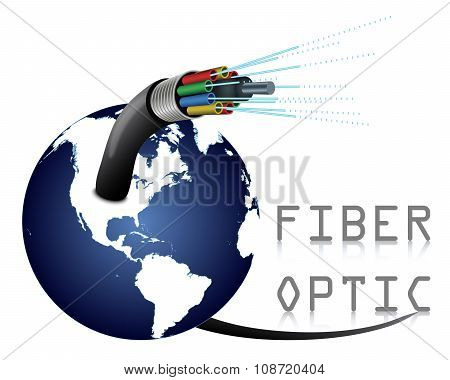 Fiber Optic with Earth