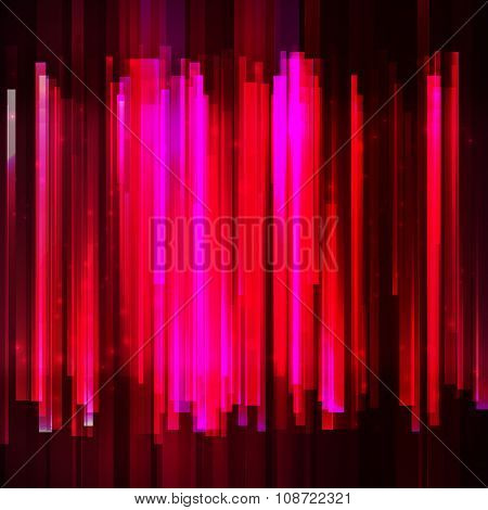 Holidays red colorful equalizer