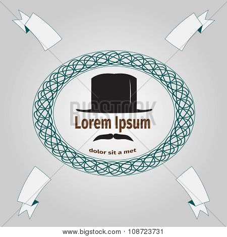 Logo With Gentleman
