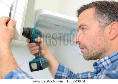 Carpenter drilling