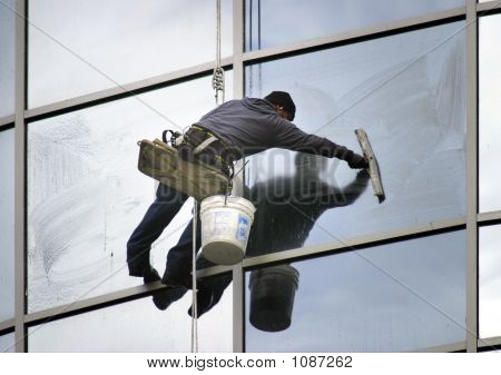 Window Washer Lean
