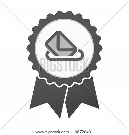 Vector Badge Icon With  A Ballot Box
