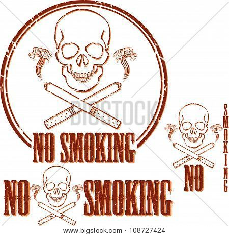 Stop smoking, idea concept.
