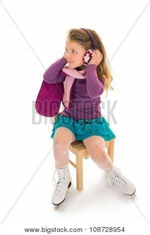 little Girl skater