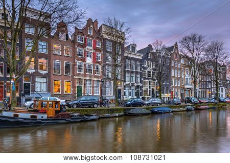 Canal Houses Brouwersgracht Amsterdam