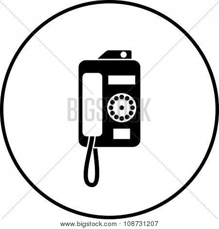 payphone symbol