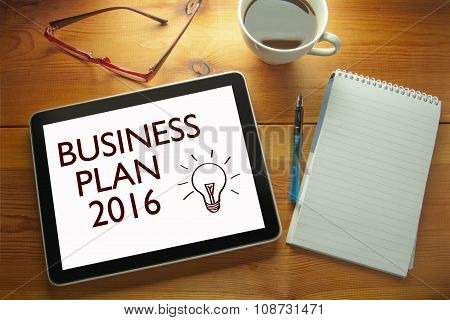 Business Plan 2016