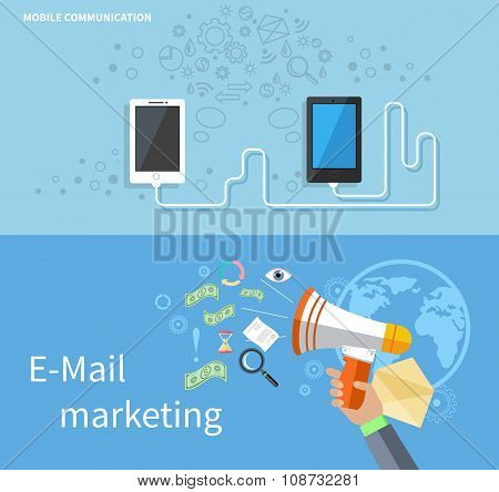 Mobile Communication and E-mail Marketing