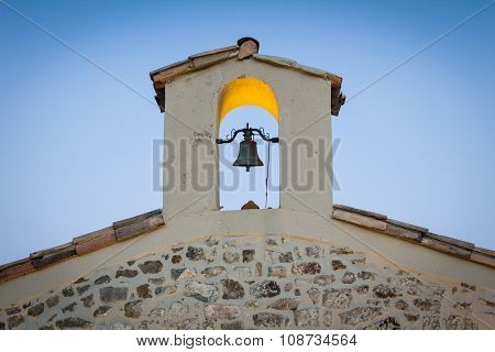 Church Bell On Small Chapel