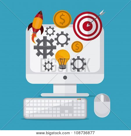 Entrepreneur  design , Vector illustration