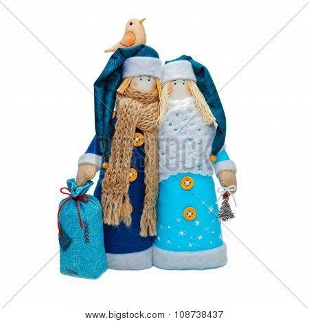 Handmade Christmas Toys.