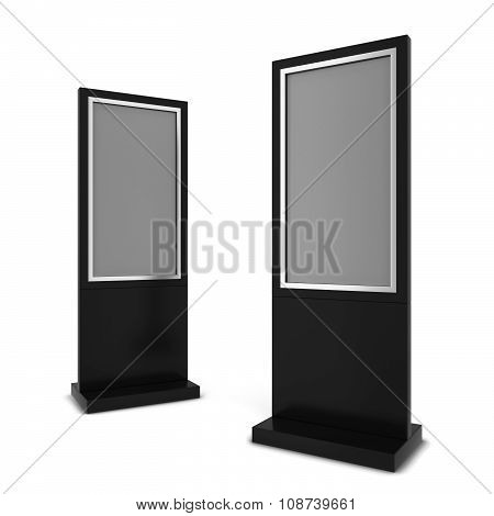 Two Lcd Displays