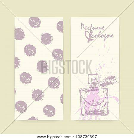 Vector Perfume Bottles Flyer