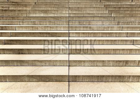 concrete staircase