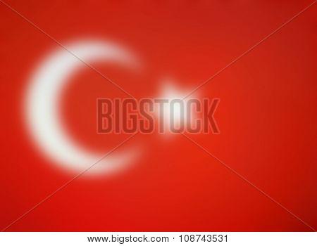 Blurred background of the Turkey - Turk - Turkish