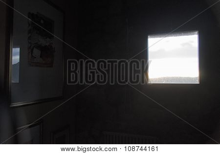 View From A Window Of An Apartment