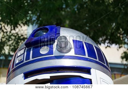 Star Wars characters R2D2.