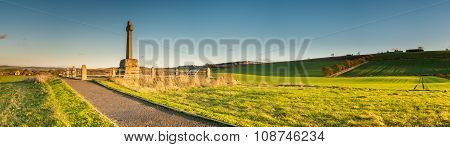 Flodden Field Panorama