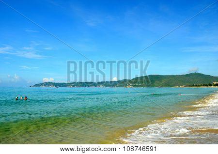 Beach, China, Hainan, Sania, Yalong Bay, May 2011