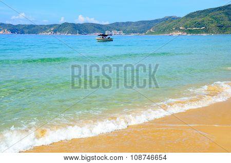 Boating, China, Hainan, Sania, Yalong Bay May 2011