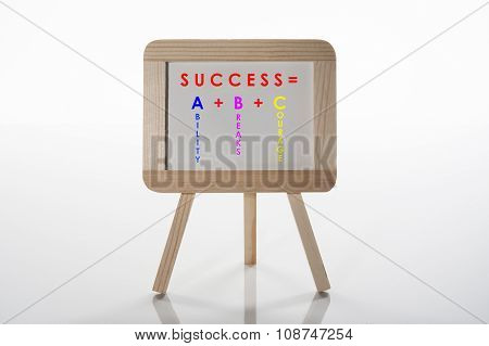 Success Is ABC
