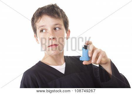 asthma problem  Boy