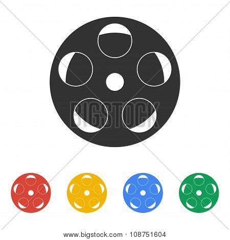 Film Reel, Vector