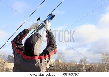 measurement of cable tension