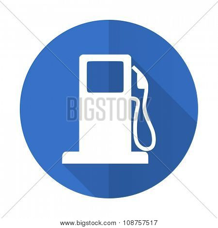 petrol blue web flat design icon on white background