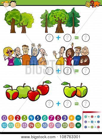 Mathematical Algebra Task For Kids