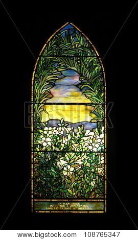 Smith museum stained glass window