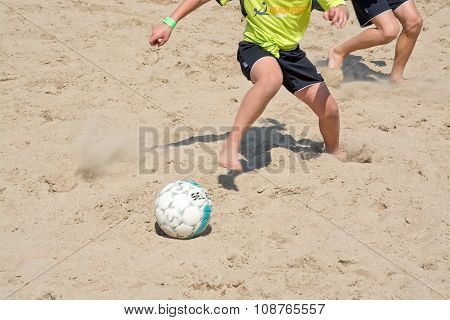 Beach Soccer Players