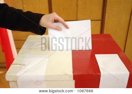 Eleições municipais a votação