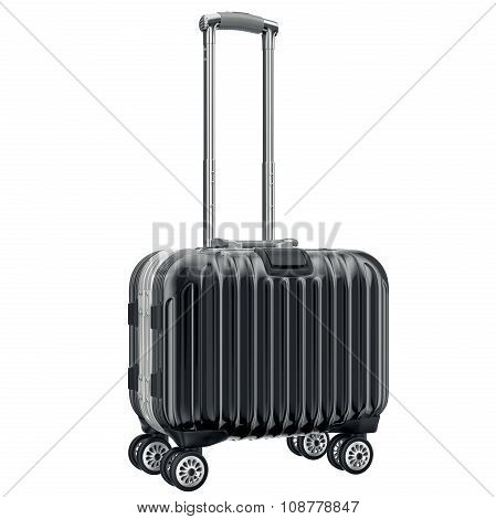 Black luggage for travel