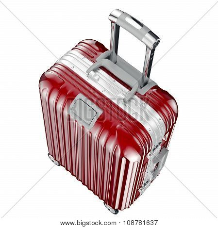 Baggage for travel, top view