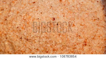 Pink Himalayan Salt Background
