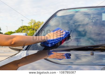 Wiping Car