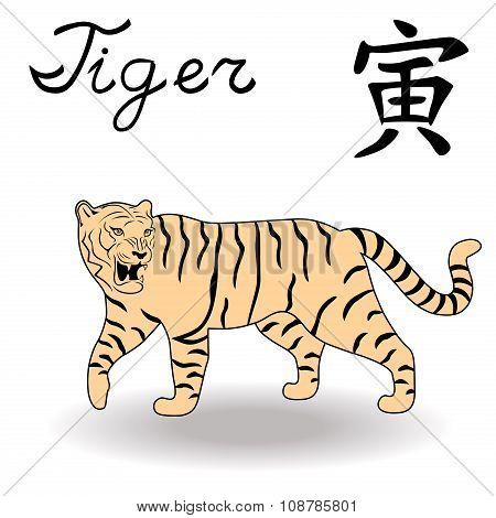 Eastern Zodiac Sign Tiger