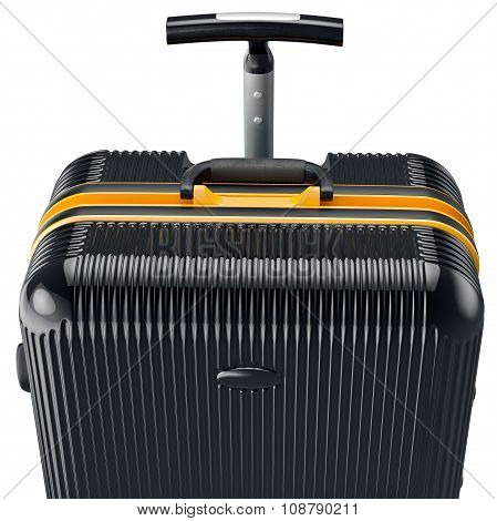 Luggage for travel, close view