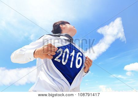 Welcome 2016 New Year Concept