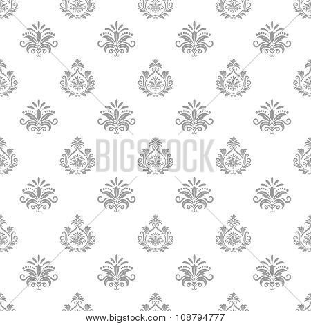 Wallpaper in baroque style