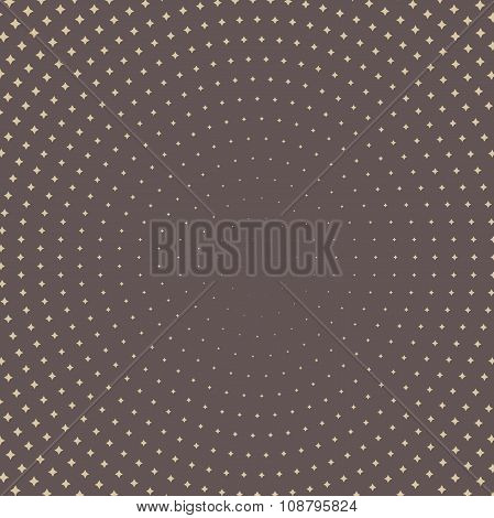 Seamless Modern Pattern With Dots
