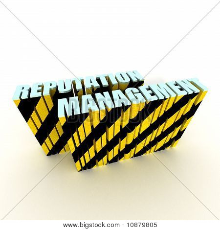 Reputation Management With Caution Tape