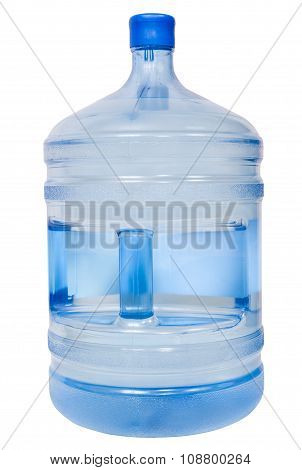 Closed 19 Liter Plastic Bottle With Drinking Water