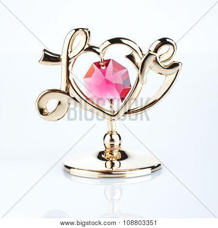 souvenir with heart