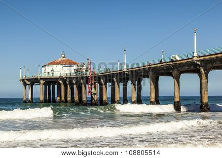 Beautiful Hermosa Beach In California