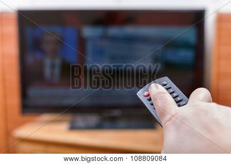 Turn Off News On Tv Channel By Remote Control