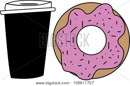 Donut and Coffee